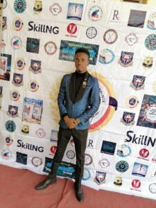 Martins Isaac at the 2019 UCJ UI Awards