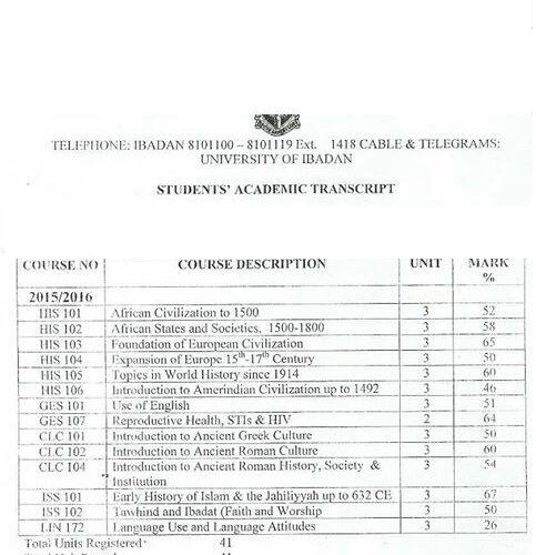 Transcripts processing
