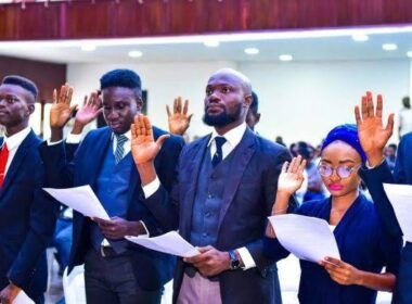 UI Students' Union swearing in